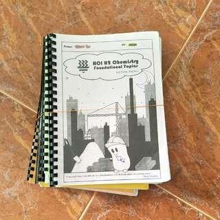 HCI H2 Chemistry Notes (2015-16)