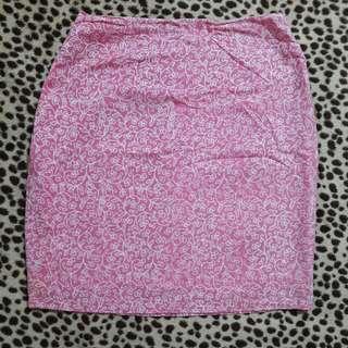 Rok Batik Pink M