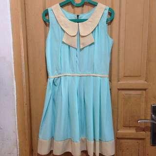 Blue Dress #ClearanceSale