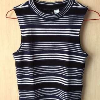 H&M - crop top stripes