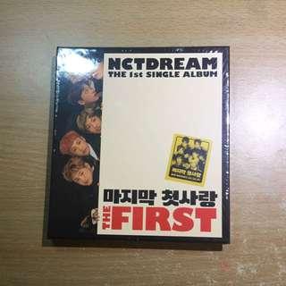 NCT Dream First Single Album
