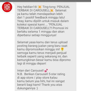 THX CAROUSELL TWO WEEKS IN A ROW NIH 😊😊