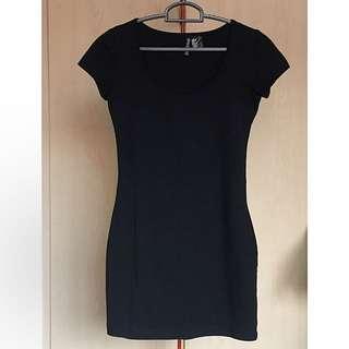 H&M bodycon tshirt dress