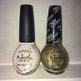 OPI Nail polishes