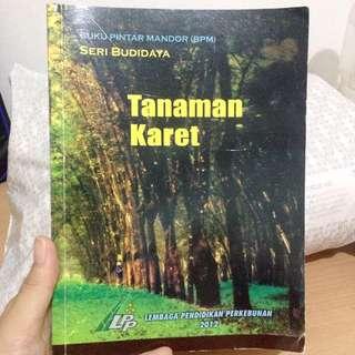 Buku Pintar tanaman karet