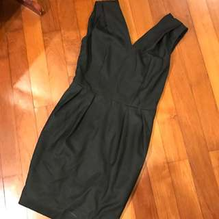 DKNY Cut Label Black Tulip Work Dress US4 *REDUCED*