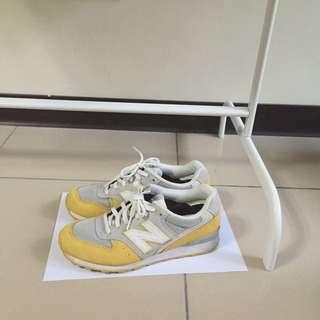 正!newbalance黃色996運動鞋