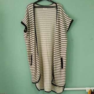 Long Vest Stripes