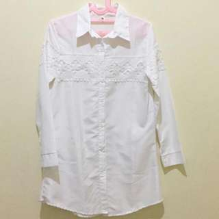 White Soft Cotton Shirt
