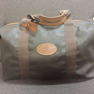 Authentic Vintage Mulberry Scothgrain Travel Bag