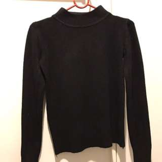 Turtle Neck Knits Long Sleeve