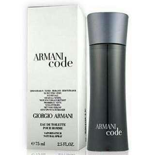 Armani Code 黑色密碼 75ml Tester