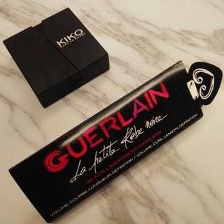 包郵 Kiko Eyeshadow + Guerlain Mascars