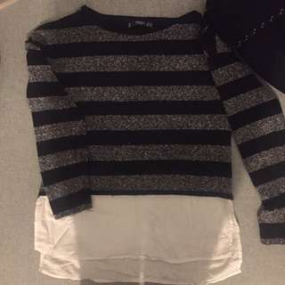 MNG Jumper With Shirt