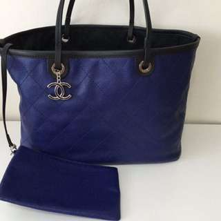 d8b4fee1c21d chanel tote bag blue | Luxury | Carousell Singapore