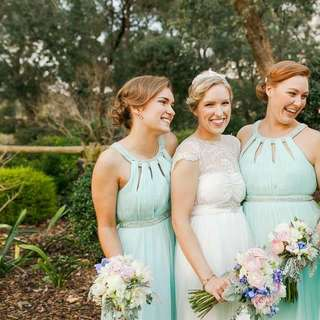 Forever New Mint Formal Bridesmaid Dress