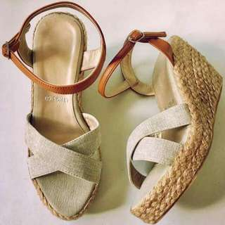 AM1026 Cross Wedge Sandals (Marikina-made)