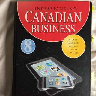 Understanding Canadian Business 8th Edition