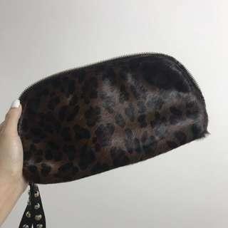 豹紋手提袋