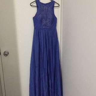 Silk Bariano Dress. Size 8