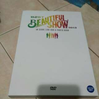 B2ST Beautiful Show 2013 In Seoul Live DVD & Photobook