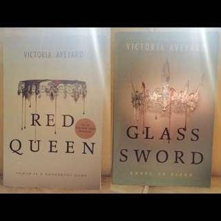 Red Queen Series (#1, #2) @150k Each