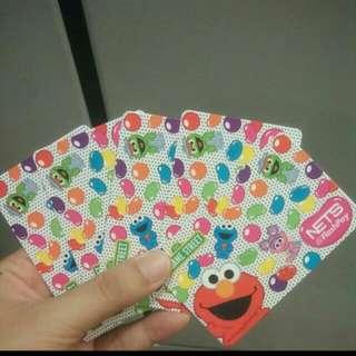 BN Elmo Nets Flash Card