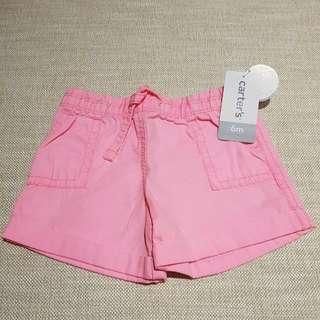 Carter'# Girl Shorts 6M