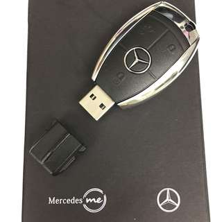 New 16GB Mercedes Benz style key flash drive