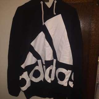 Adidas Hoodie Jumper Size L.