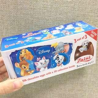 迪士尼巧克蛋買①送①🍫
