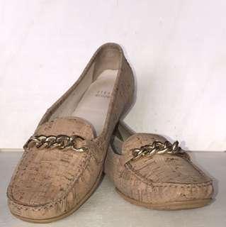 Women's STUART WEITZMAN Cork Flat Shoes Sz 7.5