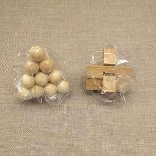 扭蛋 - 日本木系益智扭蛋