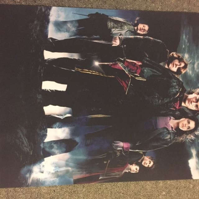 2x Large Harry Potter Posters