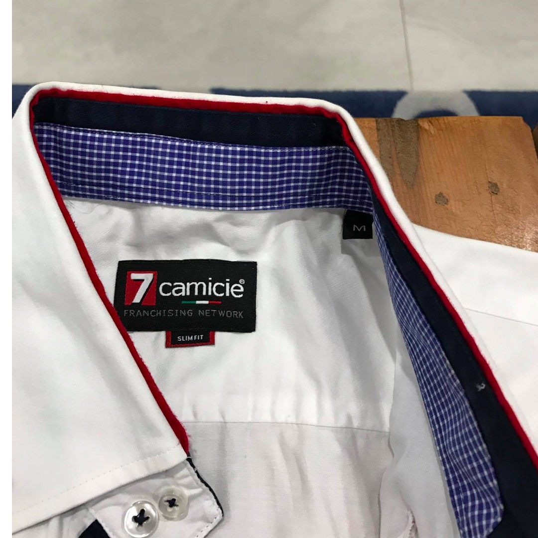 7 Camicie Button-Up shirt Mens