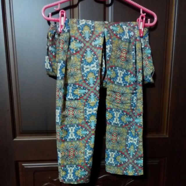 民俗風 長褲 A Ladys M 號