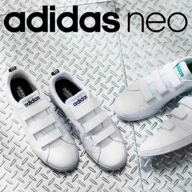 【預購】Adidas Neo深藍標AW5211/綠標AW5210