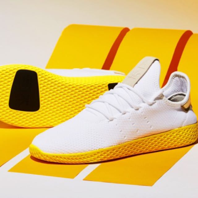 96c115bfbc8e1 UK8 Adidas Pharrell Williams Tennis Hu