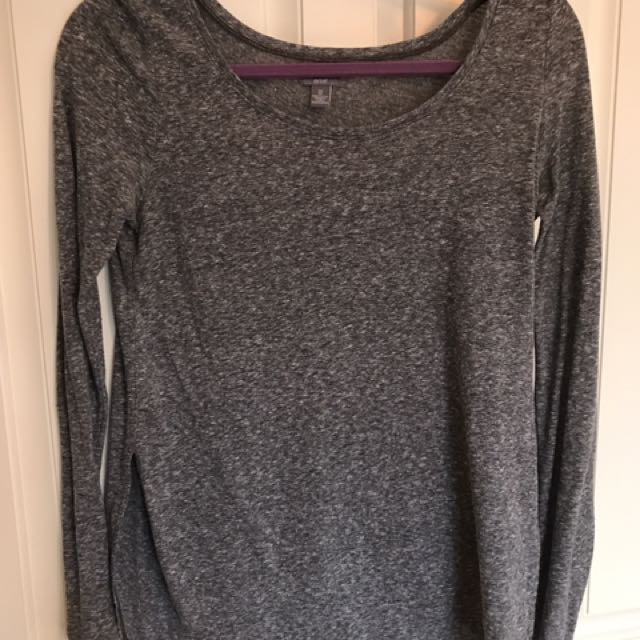 Aerie Long Sleeve With Side Slits