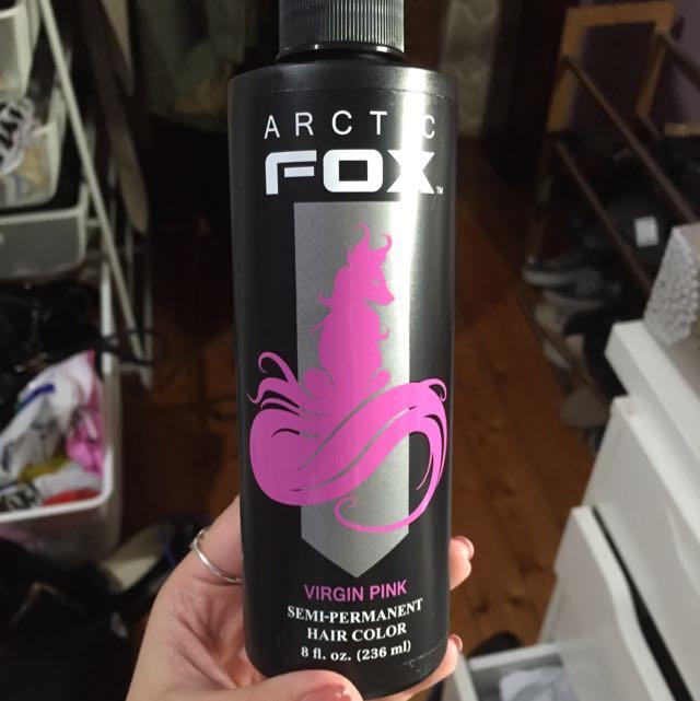 Arctic Fox Virgin Pink Hair Dye