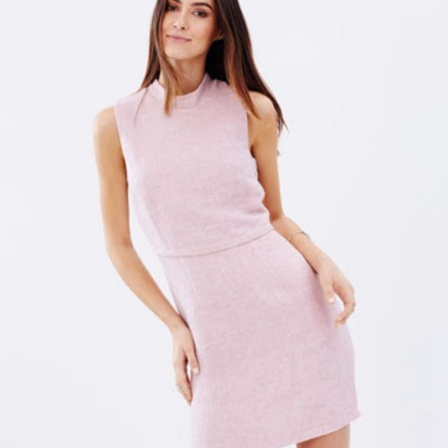 Reduced ** Atmos&here Pink Blush Dress