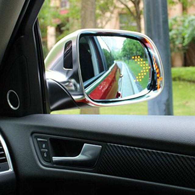 Audi Q5 Blue Lens Mirror With LED Arrow