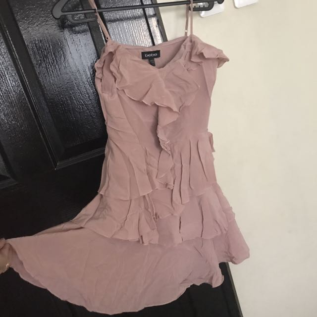 Authentic Bebe Old Rose Dress