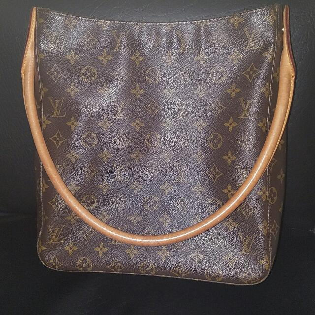 Authentic Lv Looping Bag Gm