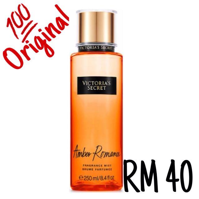 16e36aba6b9  AUTHENTIC  Victoria s Secret (Amber Romance)