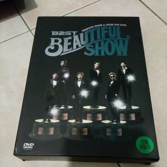 B2ST Beautiful Show In Seoul Live DVD