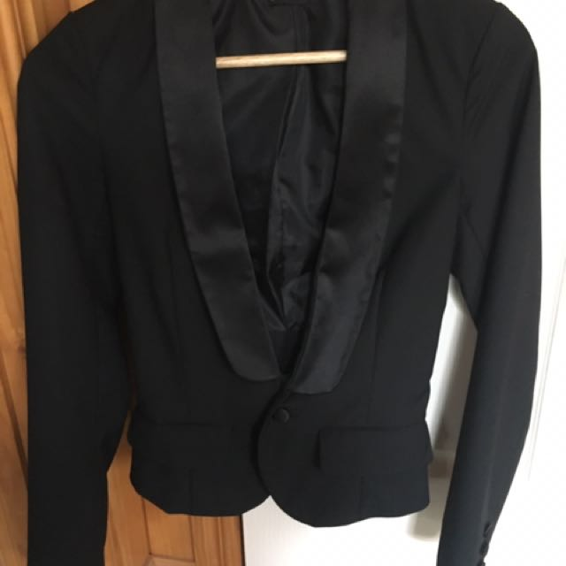Bardot Black Jacket Size 6
