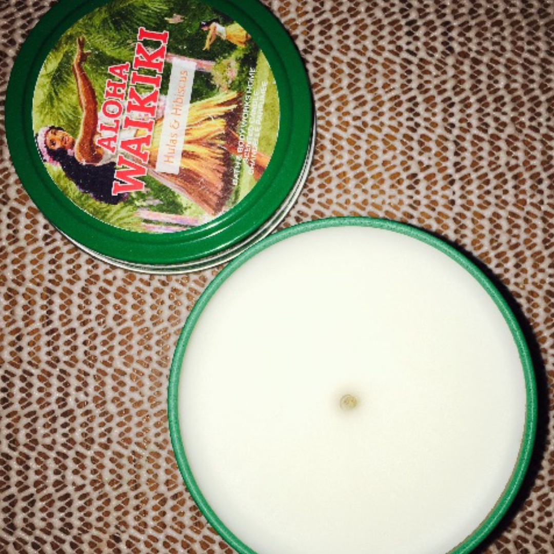 Bath and Body Works Hulas and Hibiscus Single Wick Candle