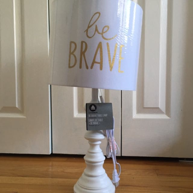 Be Brave Lamp