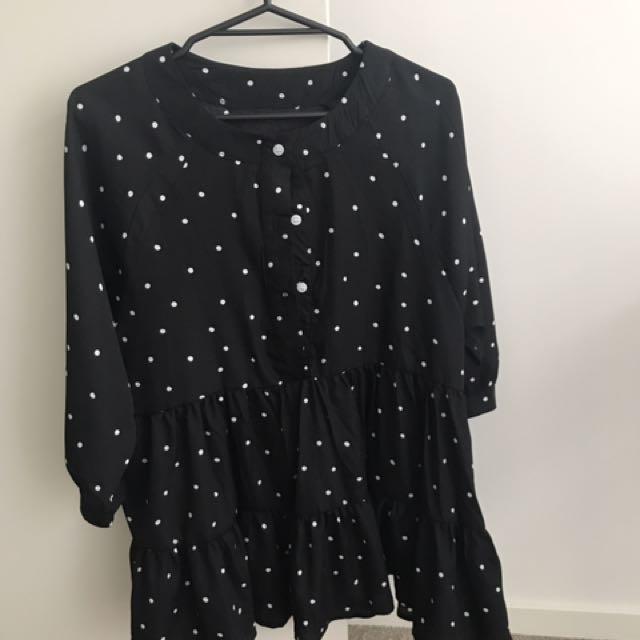 Black Dress/Blouse